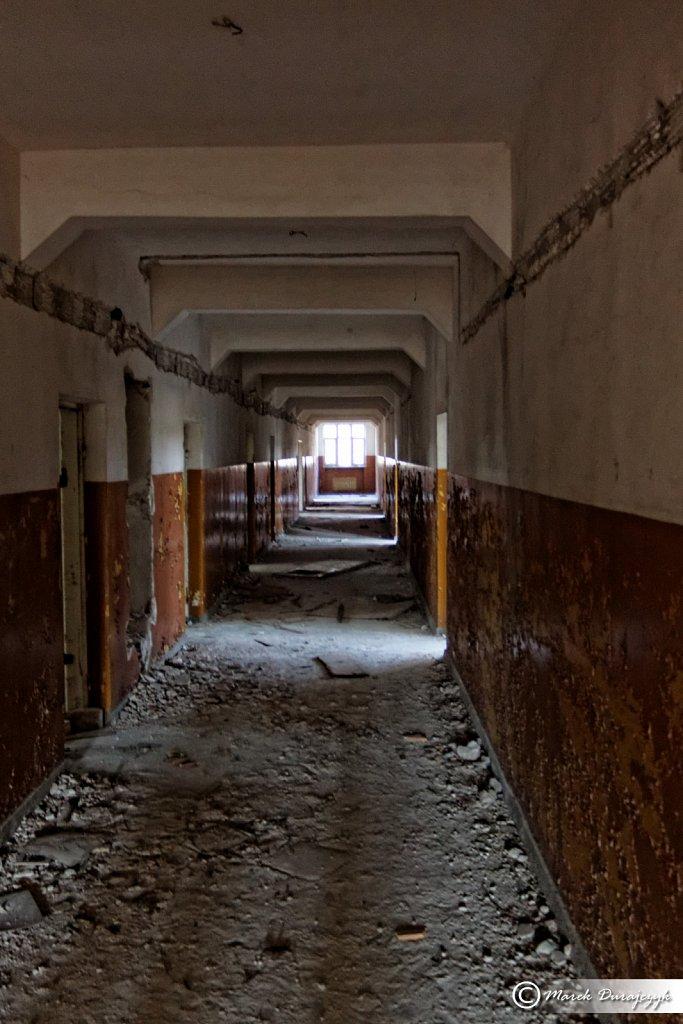 Opuszczona Radziecka Szkoła - Trzebień