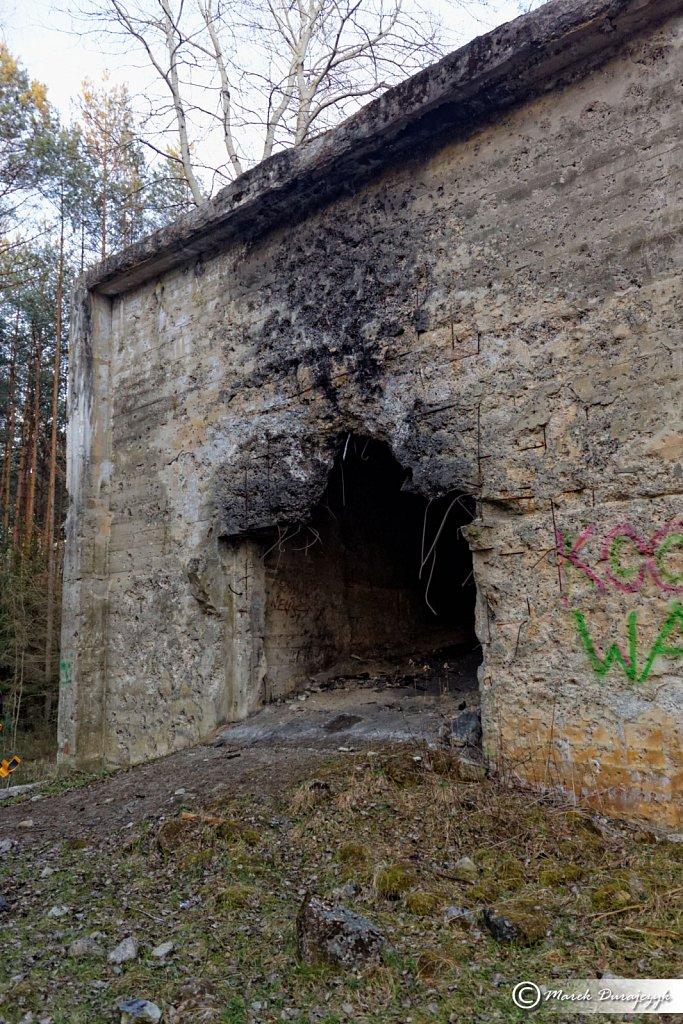 """Poligon doświadczalny Krupp AG """"Berthawerk"""" w Markstädt"""