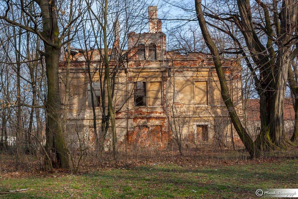 Palac w Bronowie Schloss Bornchen